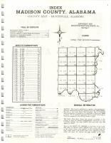 Index Map, Madison County 1974